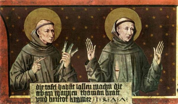 St Anthony Of Padua And St Francis Of Assisi